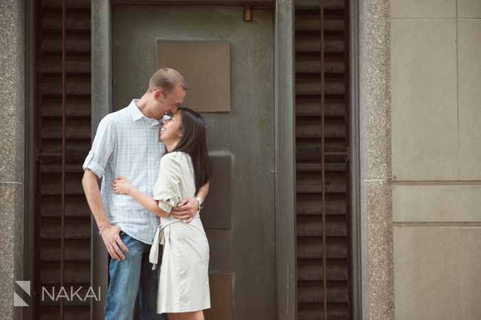 Chicago Millennium Park Engagement Photos