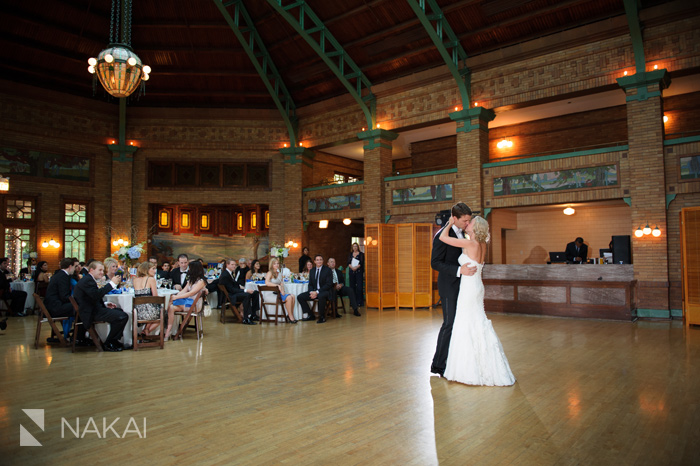 cafe brauer wedding reception photo chicago wedding photographer