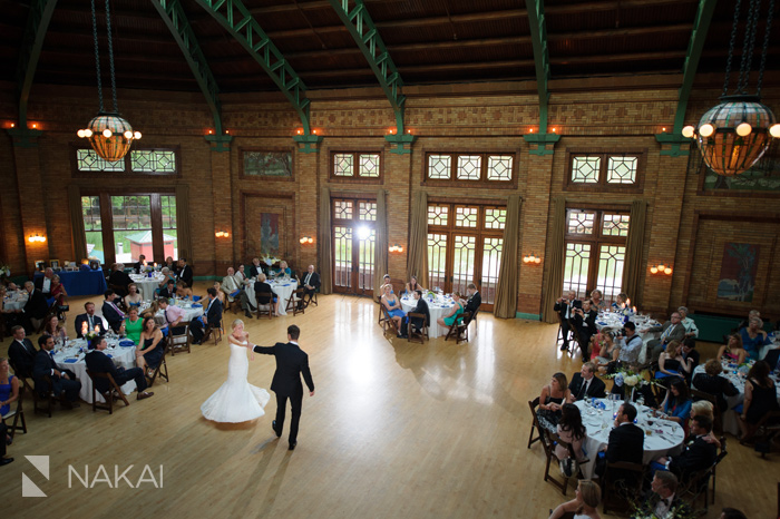 cafe brauer wedding reception picture chicago wedding photographer