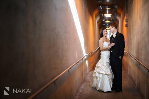 urban creative wedding photo