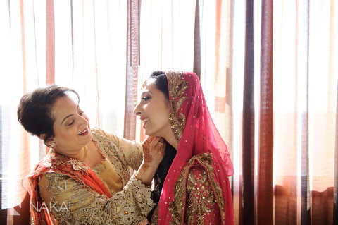 indian bride and mother