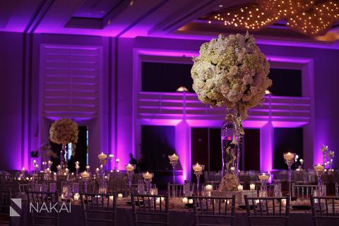 chicago hyatt regency ohare wedding reception photo yanni design studio