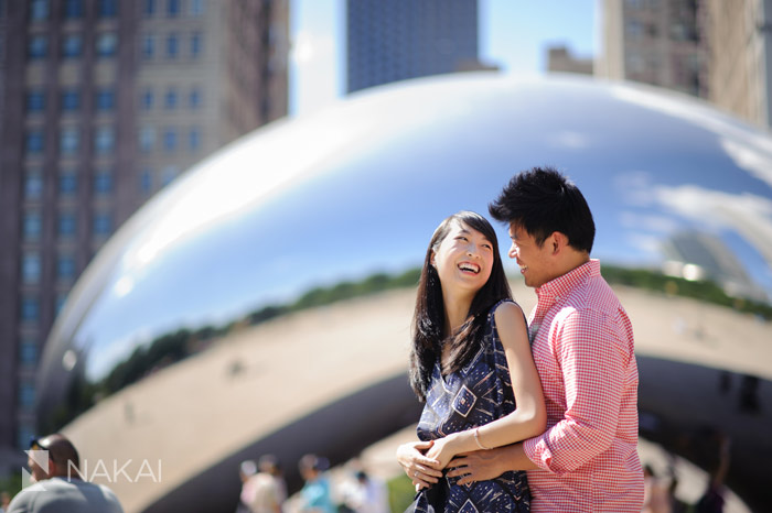 Brazilians in chicago for engagement photos