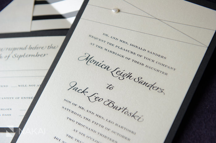 sarah drake designs wedding invitation