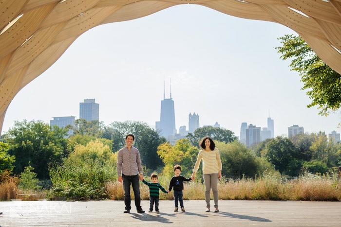 Chicago Family Photographer Fall Portraits Lincoln Park Botanic Gardens Chicago