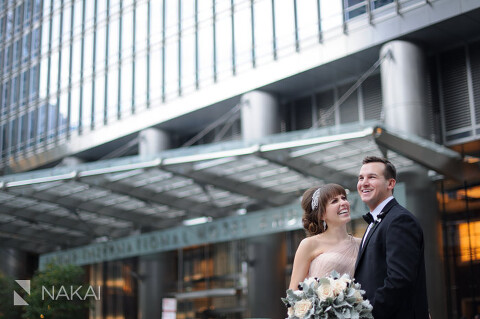 chicago trump hotel wedding picture