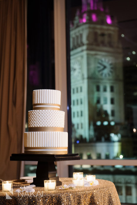 chicago trump wedding cake photo