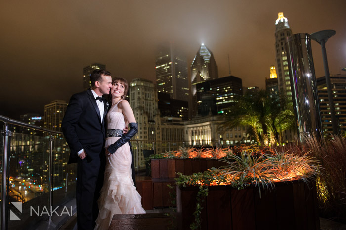 chicago trump tower wedding photos