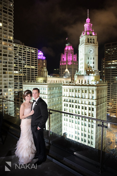 chicago trump hotel wedding photos