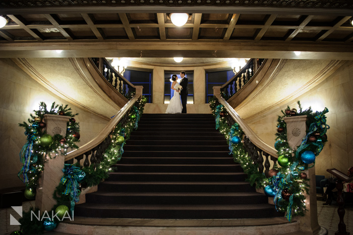 These Indoor Ceremony Backdrops Will Make You Pray For: Chicago Winter Wedding Photos