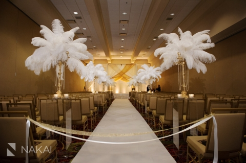 Lincolnshire marriott wedding photos great gatsby theme chicago great gatsby wedding ceremony photo junglespirit