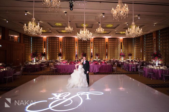 chicago luxury wedding picture peninsula hotel