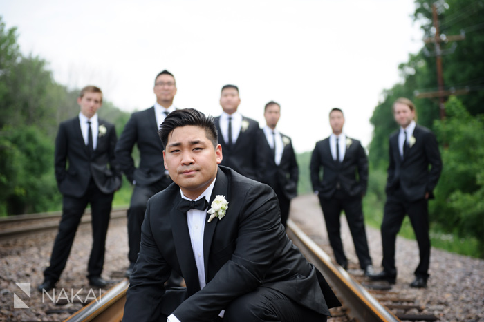 chicago suburban wedding pictures