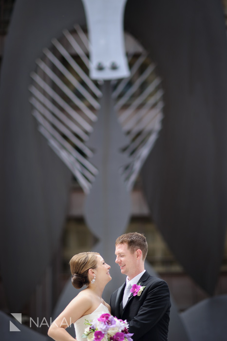 daley center wedding photo