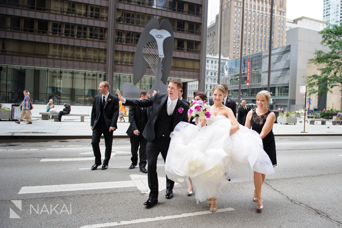 daley center wedding picture