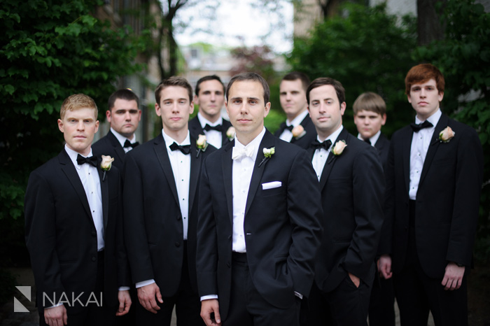 downtown Lake Forest wedding pictures