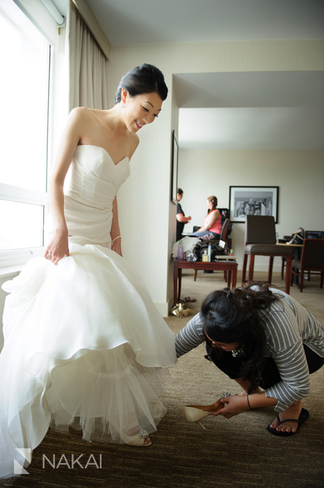 westin chicago north shore wedding picture