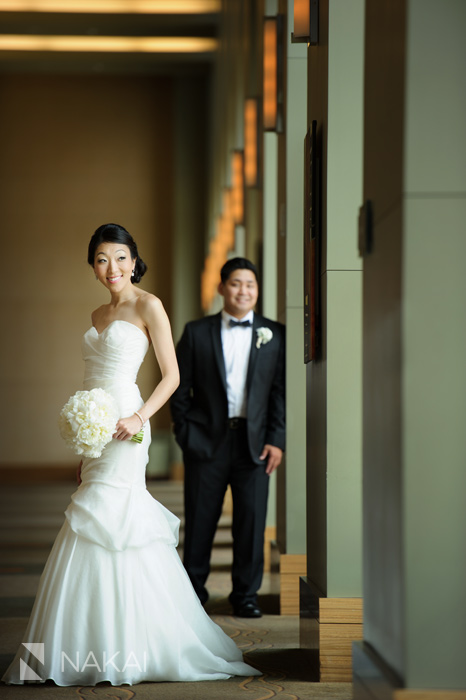westin chicago north shore wedding photo