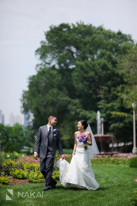 chicago south loop wedding photo
