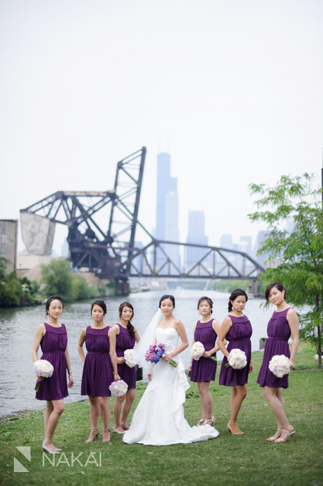 chicago skyline wedding photographer