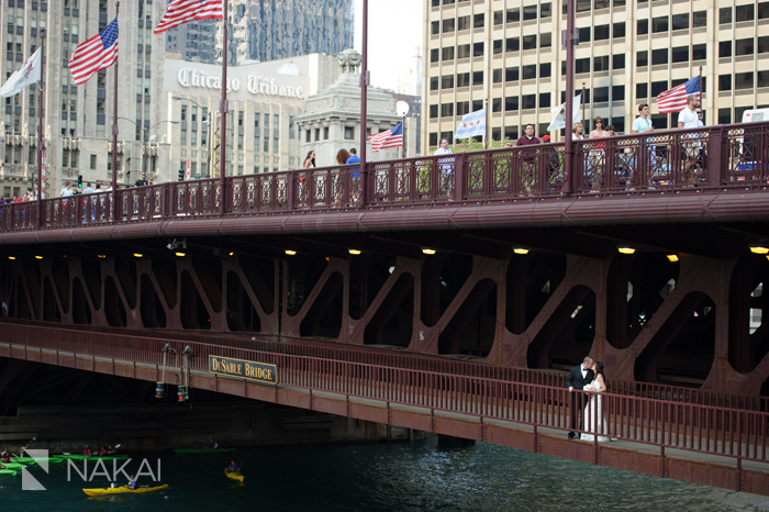 chicago bridge wedding photographer