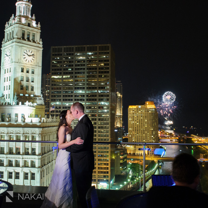 trump hotel chicago wedding reception photographer