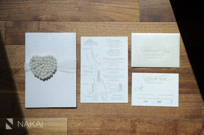 letterpress luxury wedding invitation