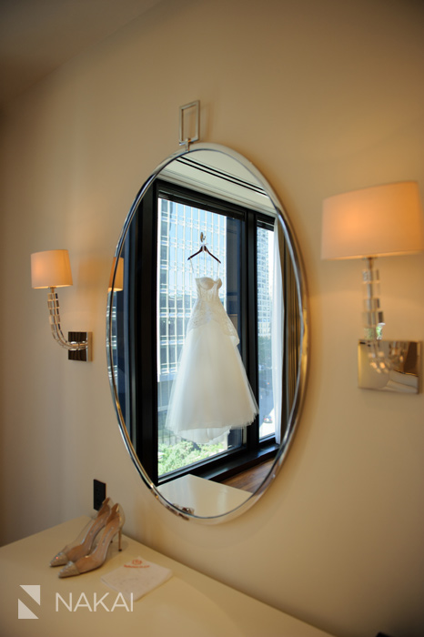 langham chicago wedding picture