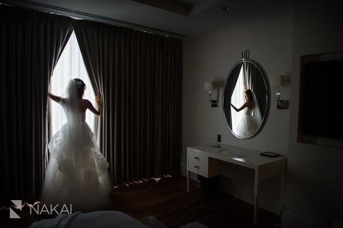 langham chicago wedding photo