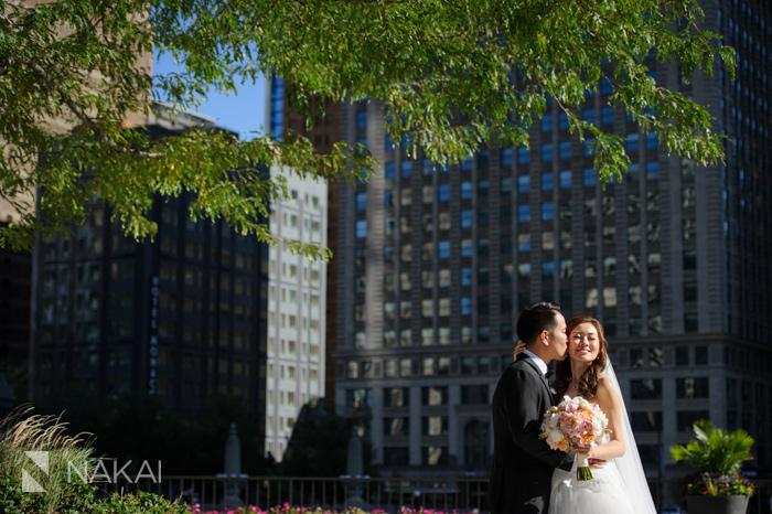 chicago luxury wedding picture