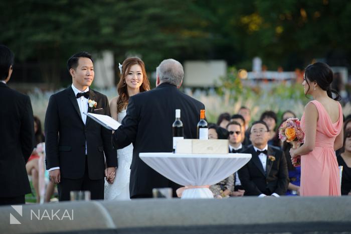 lincoln park wedding ceremony photo
