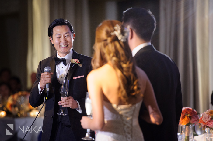 chicago langham wedding reception photo