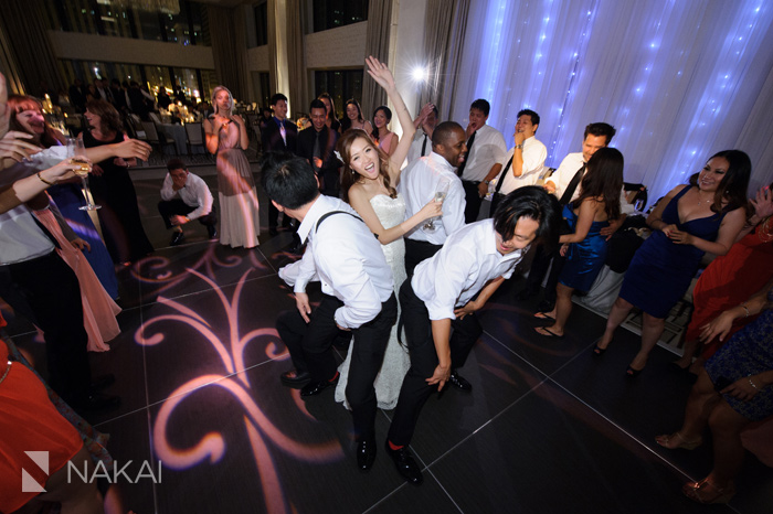 chicago langham wedding photo