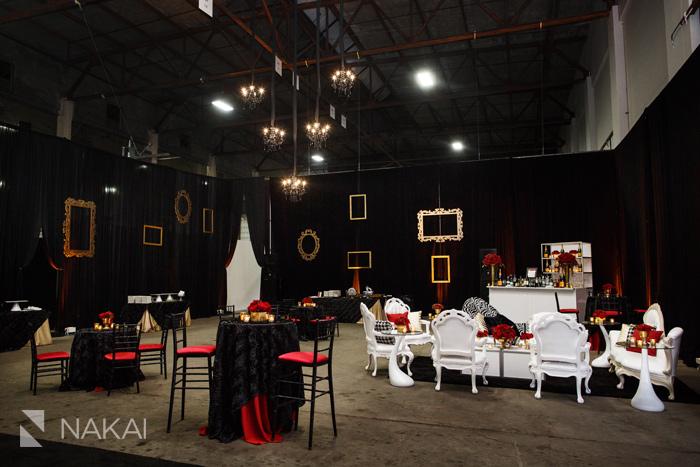 modern event rental sid chicago wedding