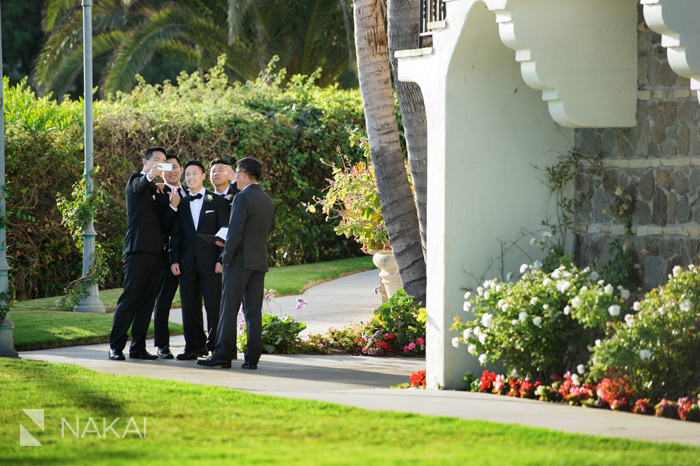 bel air bay club wedding picture