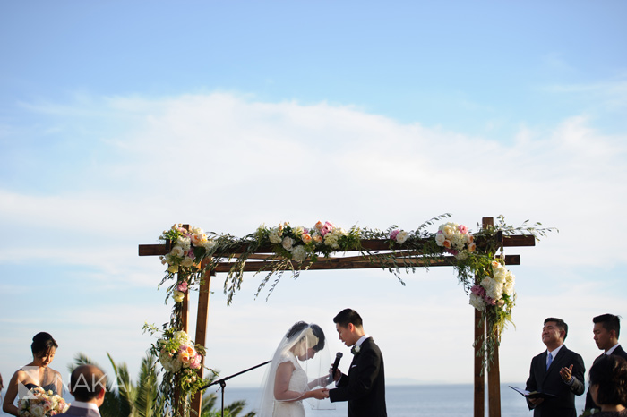 bel-air bay club wedding photo