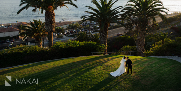 bel air bay club wedding photo