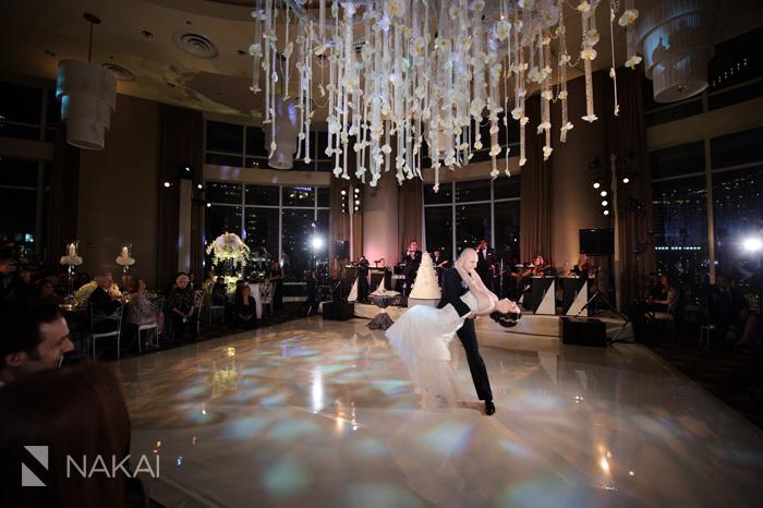 Luxury Wedding Photos At Chicago Trump Tower Rachel Paul Photographer Kenny Nakai Photography Blog