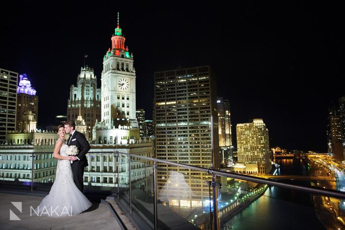 best chicago trump tower luxury wedding photos