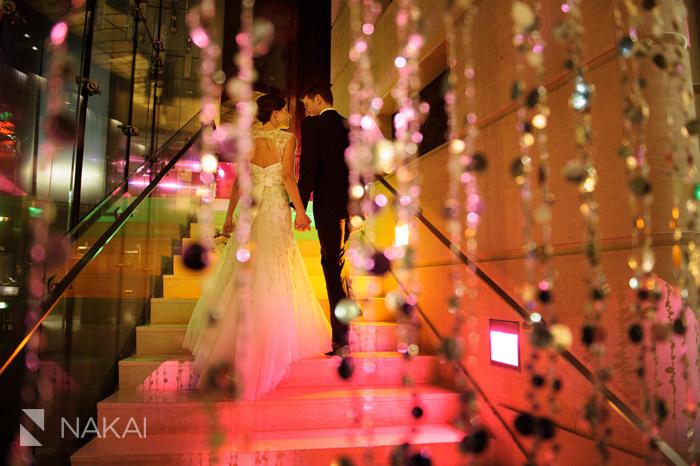 chicago trump tower luxury wedding photos best