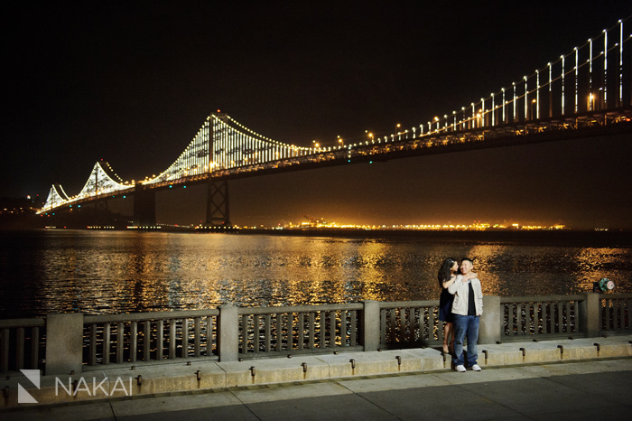 SF chinatown engagement photo