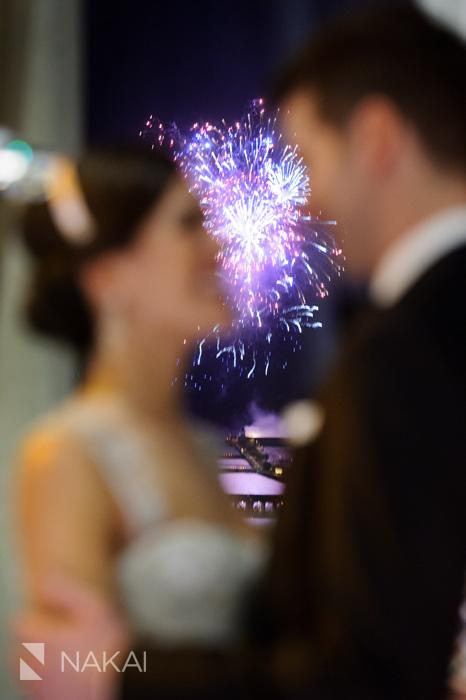 best chicago fireworks wedding photography