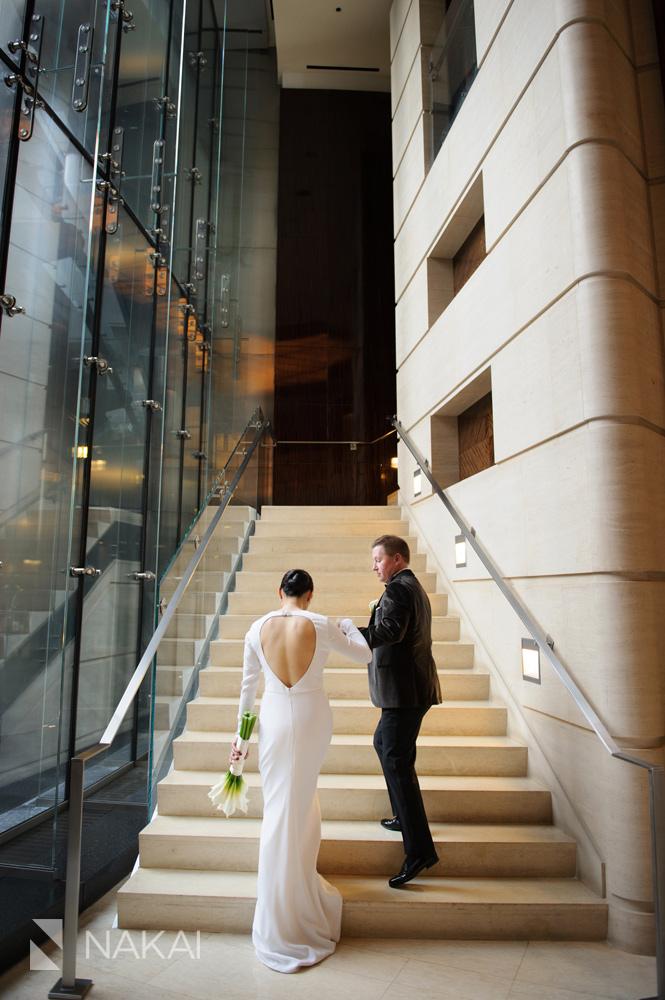 chicago luxury wedding photographer 5 star hotel trump