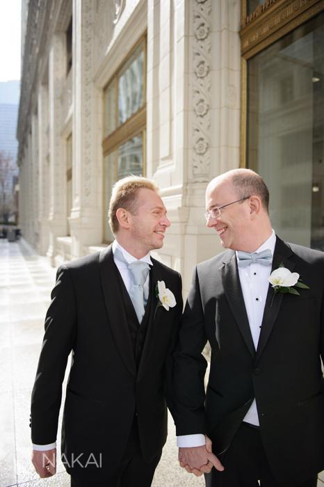 chicago same sex wedding picture