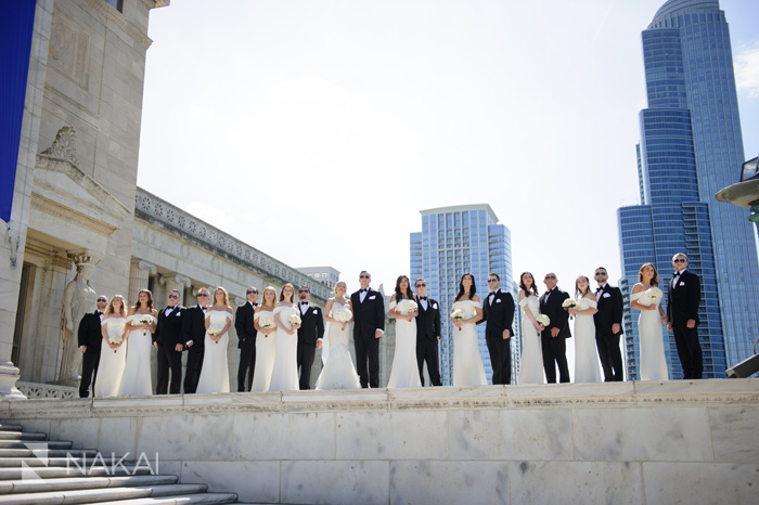 chicago field museum wedding photos