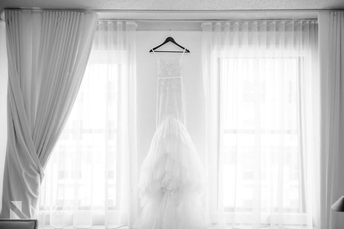 luxury wedding photo chicago public hotel