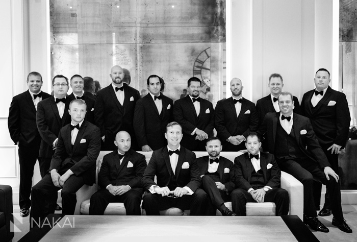chicago luxury wedding picture public hotel