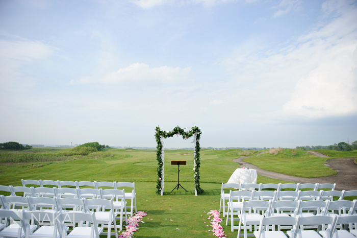 il golf course wedding photo