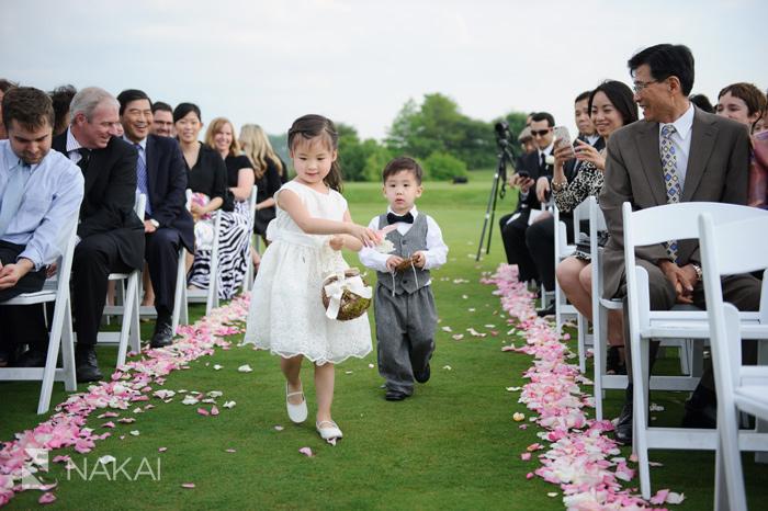 il golf course wedding picture