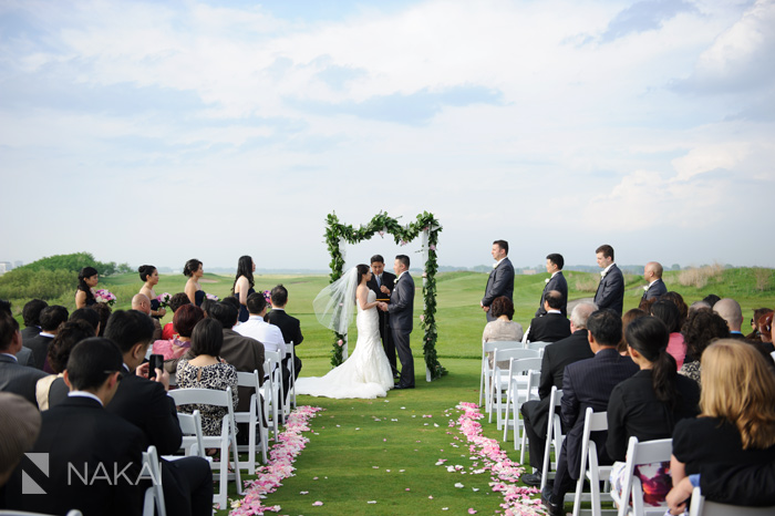 illinois golf course wedding photographer